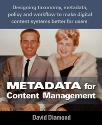 Metadata for Content Management Book Cover